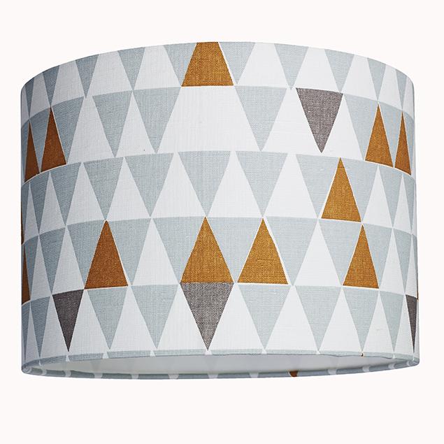 Scandinavian design geometric drum lampshade julias lampshades scandinavian design geometric drum lampshade aloadofball Image collections