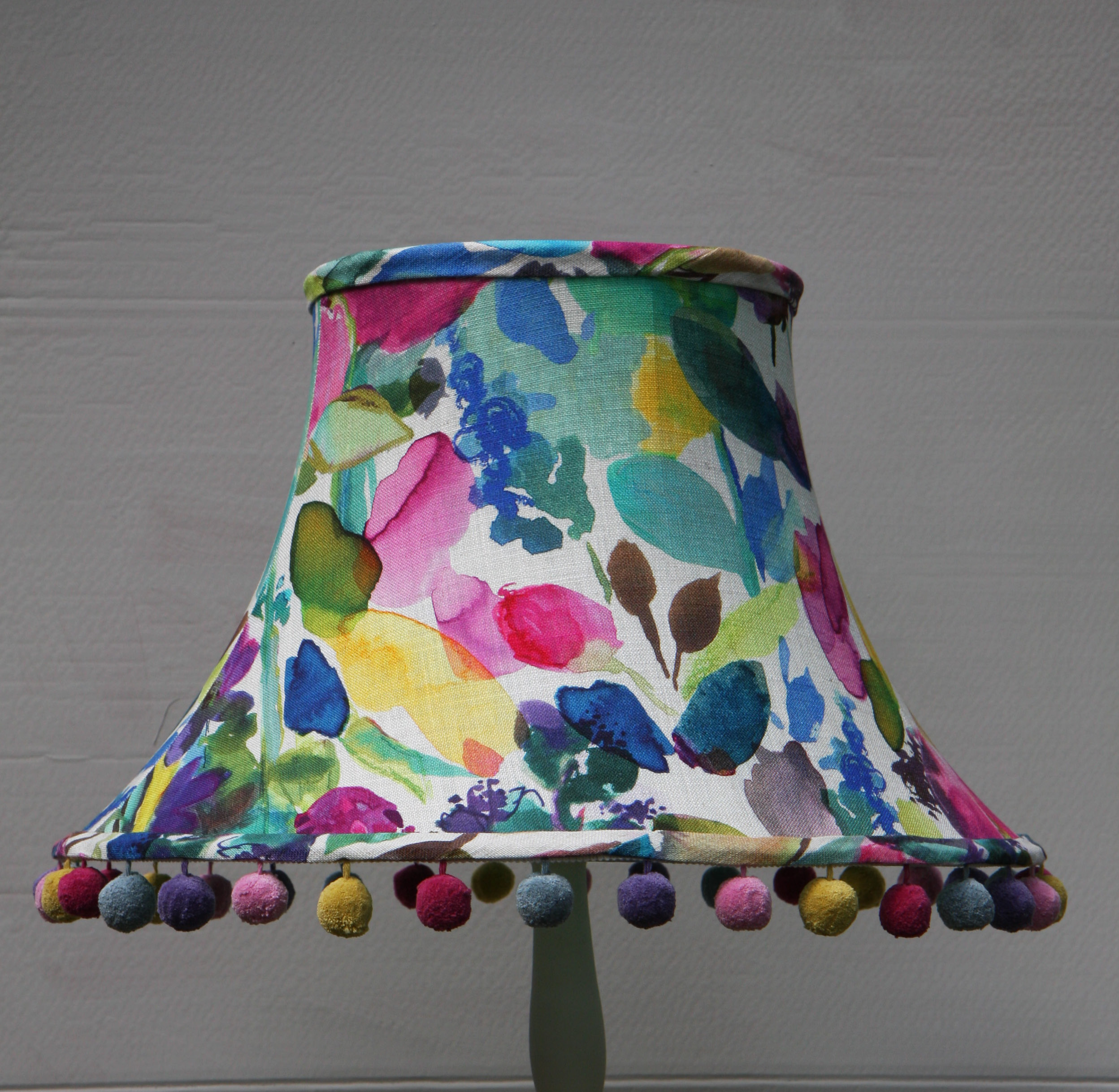 Floral lampshades julias lampshades floral lampshades aloadofball Image collections