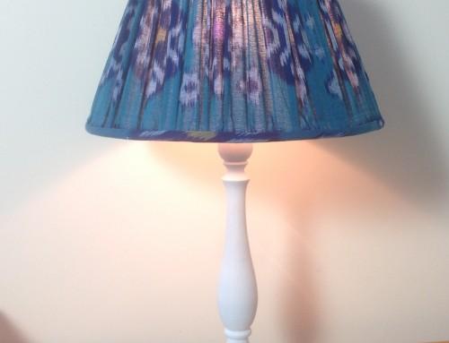 Ikat lampshades